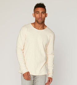 Charleston Slub Long Tee Mens Tops Threads 4 Thought s Eggnog