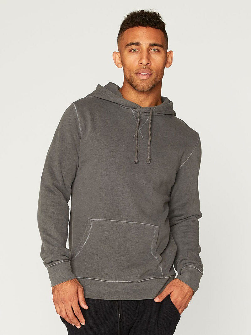 Austin Pullover Hoodie Mens Outerwear Sweatshirt Threads 4 Thought S Quiet Shade