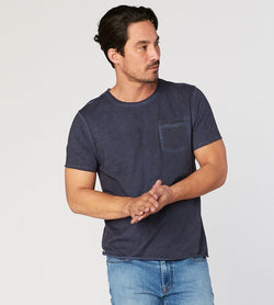Zeke Tee Mens Tops Threads 4 Thought s Raw Denim
