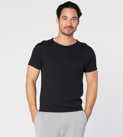 Mason Tee Mens Tops Threads 4 Thought s Black