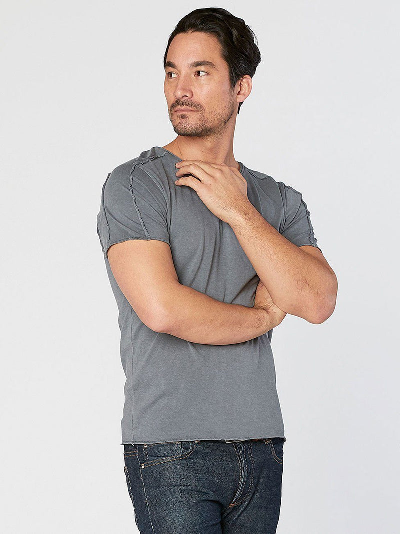 Mason Tee Mens Tops Threads 4 Thought s Slate