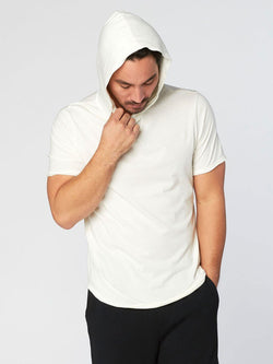 Pace Hoodie Mens Outerwear Sweatshirt Threads 4 Thought S Soft White