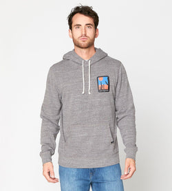 Saguro National Park Pullover Hoodie Mens Outerwear Sweatshirt Threads 4 Thought s Heather Gray