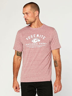 Yosemite Graphic Tee Mens Tops Threads 4 Thought S Brick Red