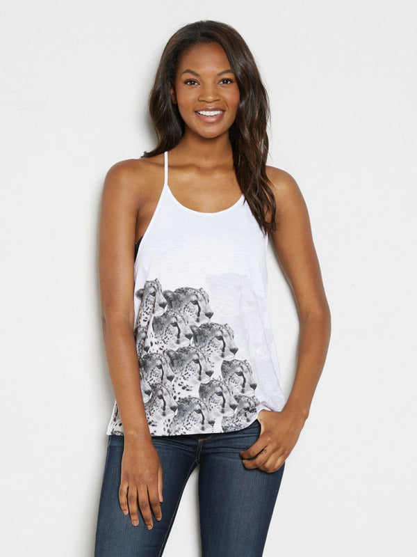 Tory Tank Womens Tops Threads 4 Thought XS WHITE