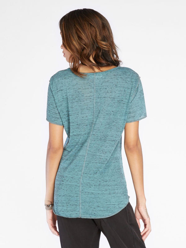 Ezra Melange Tee Womens Tops Threads 4 Thought