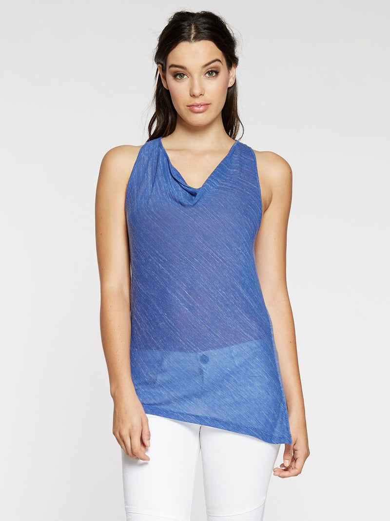 Mara Tank Womens Tops Threads 4 Thought XS BALI BLUE