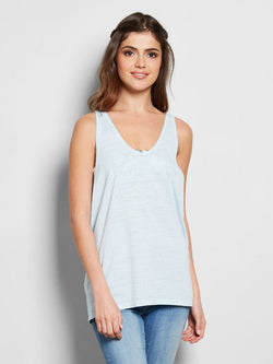Ava Tank Womens Tops Tank Threads 4 Thought XS AQUAMARINE