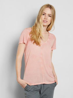 Zoya Tee Womens Tops Tee Threads 4 Thought XS Ginger