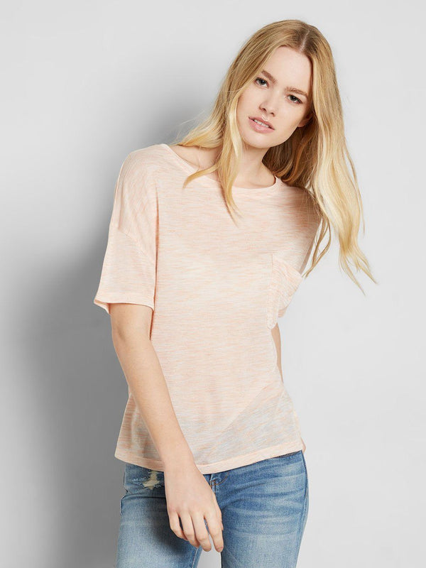 Lucya Tee Womens Tops Tee Threads 4 Thought XS Toffee