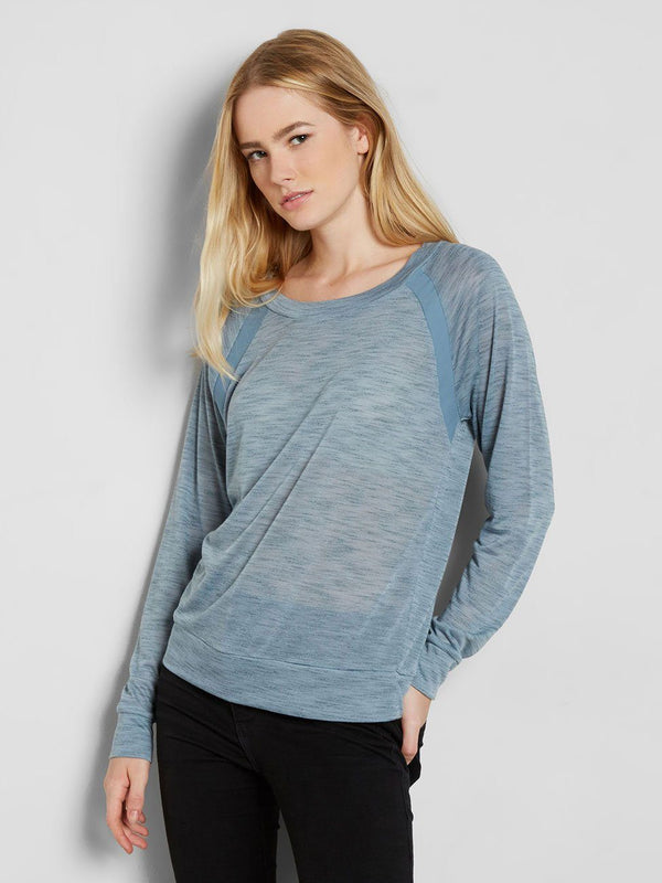 Faded Bluestone Marina Pullover