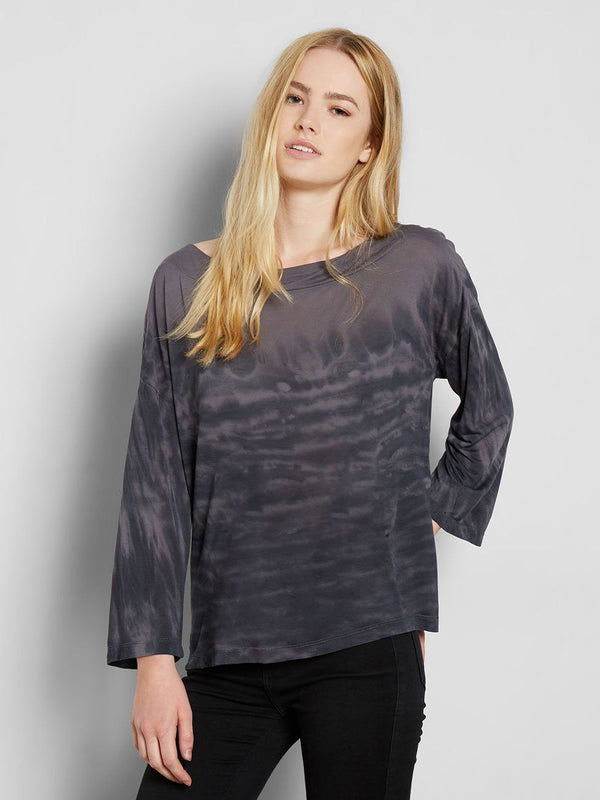 Reni Tee Womens Tops Tee Threads 4 Thought XS Magnet Grey