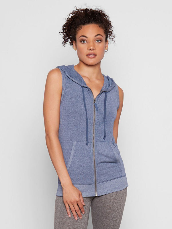 Ava Hoodie Womens Outerwear Hoodie Threads 4 Thought XS Indigo