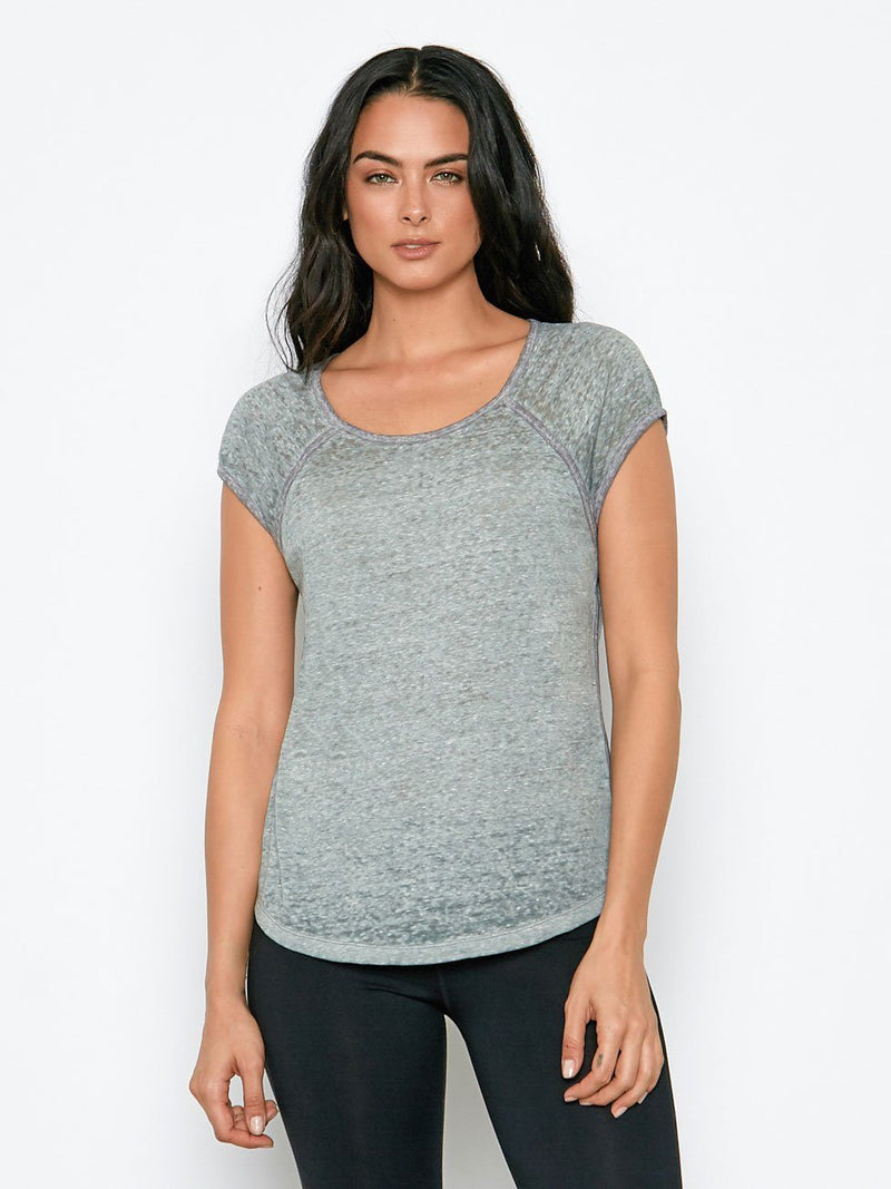 Korra Tee Womens Tops Tee Threads 4 Thought XS Light Canteen