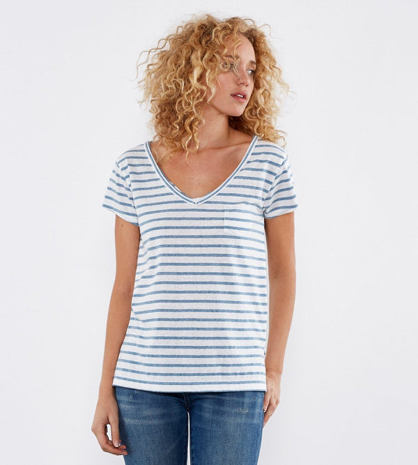 Felicity Tee Womens Tops Threads 4 Thought xs Capri