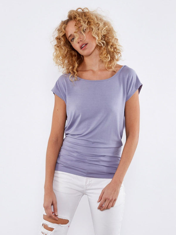 Emma Top Womens Tops Top Threads 4 Thought XS Storm