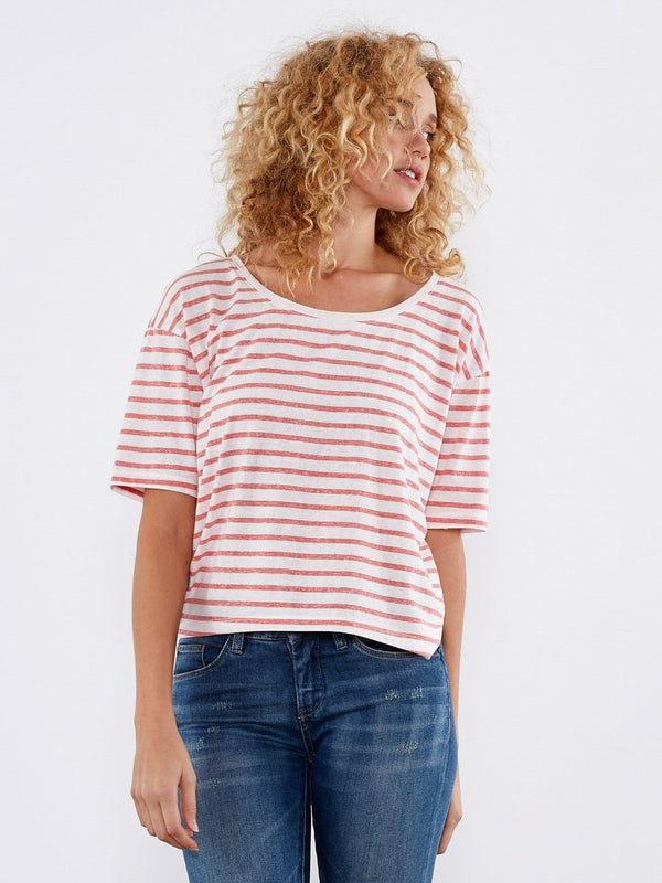 Cooper Tee Womens Tops Tee Threads 4 Thought XS Cayenne