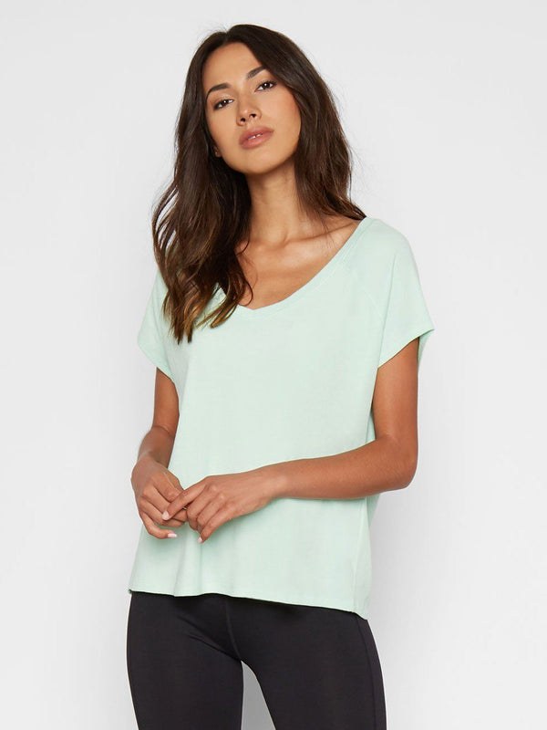 Mirella Top Womens Tops Top Threads 4 Thought XS Zinc
