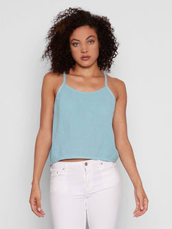 Dalton Tank Womens Tops Tank Threads 4 Thought XS Icy Teal