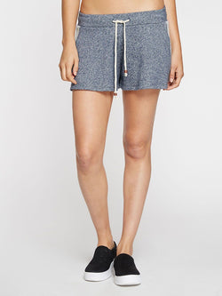Heather Navy Imogen Shorts