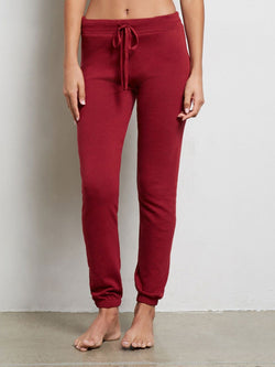 Weekender Sweatpant Womens Bottoms Pants Threads 4 Thought xs Garnet