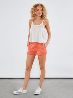 Teri Shorts Womens Bottoms Shorts Threads 4 Thought xs Cayenne