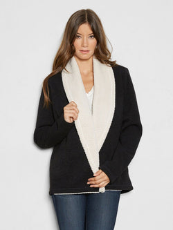 Belinda Cardigan Womens Outerwear Cardigans Threads 4 Thought xs-s Black