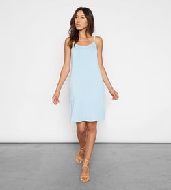 Xabrina Dress Womens Dresses Threads 4 Thought xs Dusty Blue