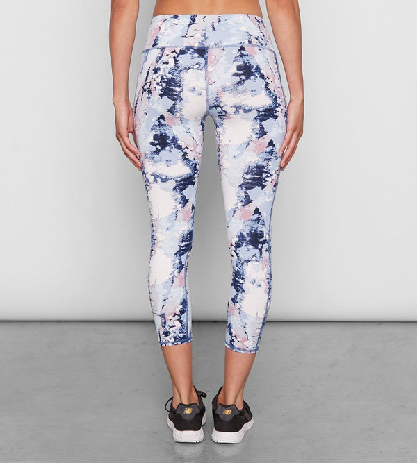 Half Lotus Crop Womens Bottoms Leggings Threads 4 Thought