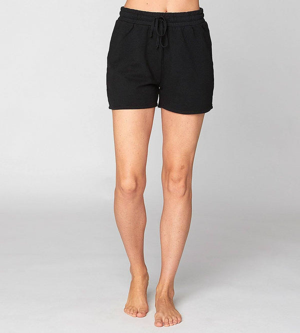 Bambi Hi Waisted Short Womens Bottoms Shorts Threads 4 Thought xs Jet Black
