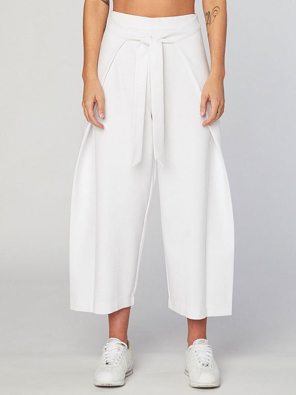 Front Wrap Culotte Womens Bottoms Pants Threads 4 Thought XS White