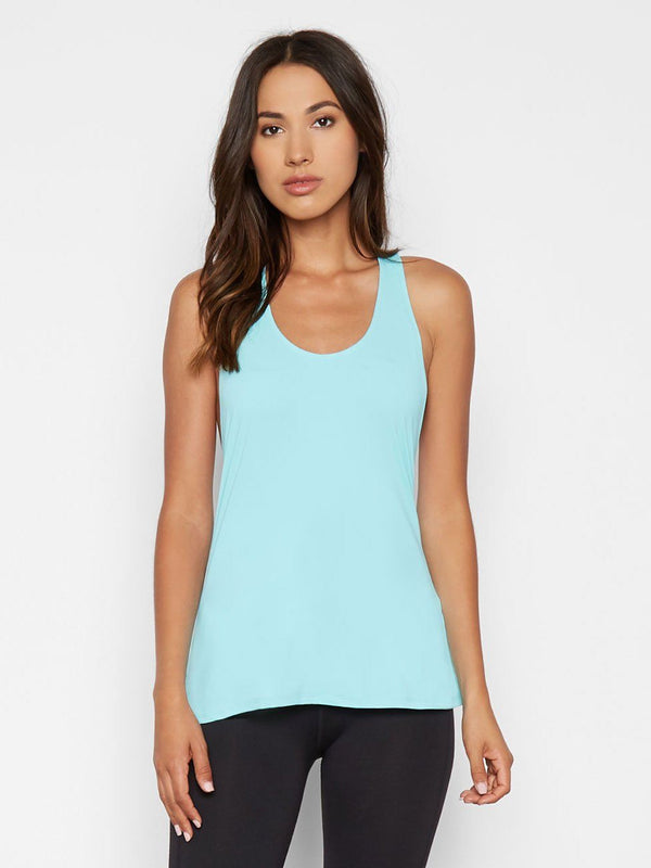Cameron Tank Womens Tops Threads 4 Thought xs Aqua Splash