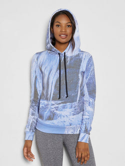 Persephonie Hoodie Womens Outerwear Hoodie Threads 4 Thought XS Icicle