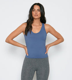 Annalee Tank Womens Tops Threads 4 Thought xs Indigo