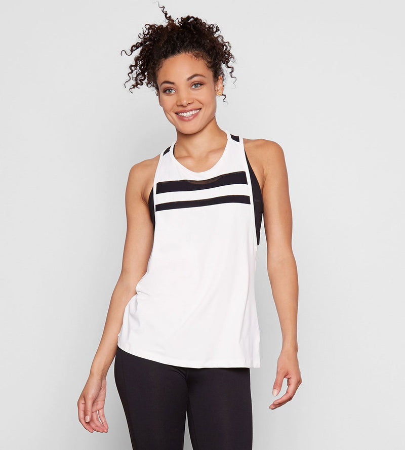 MIKA TANK Womens Tops Threads 4 Thought xs White
