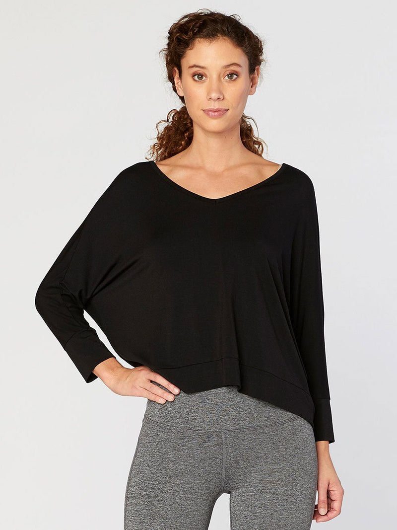 Shelbee Top Womens Tops Threads 4 Thought XS Jet Black