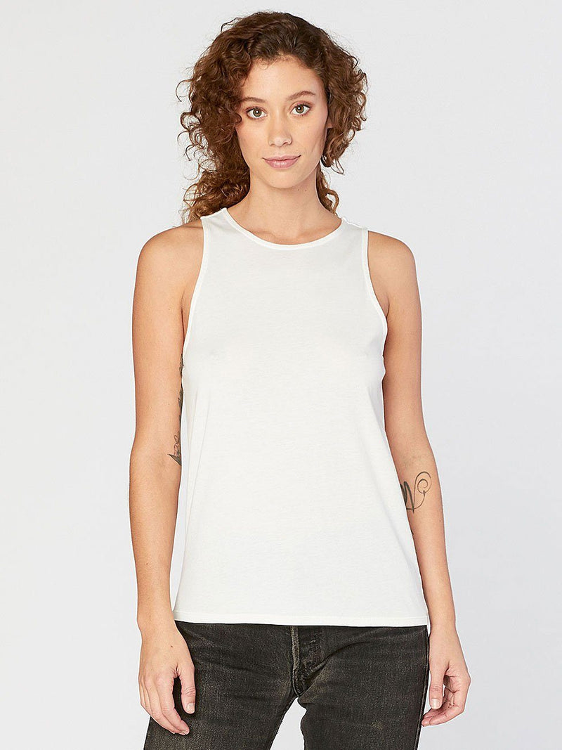 Venus Tank Womens Tops Threads 4 Thought XS White