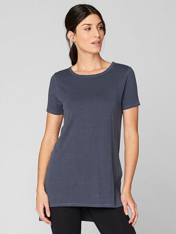 Brogan Tee Womens Tops Threads 4 Thought XS Raw Denim
