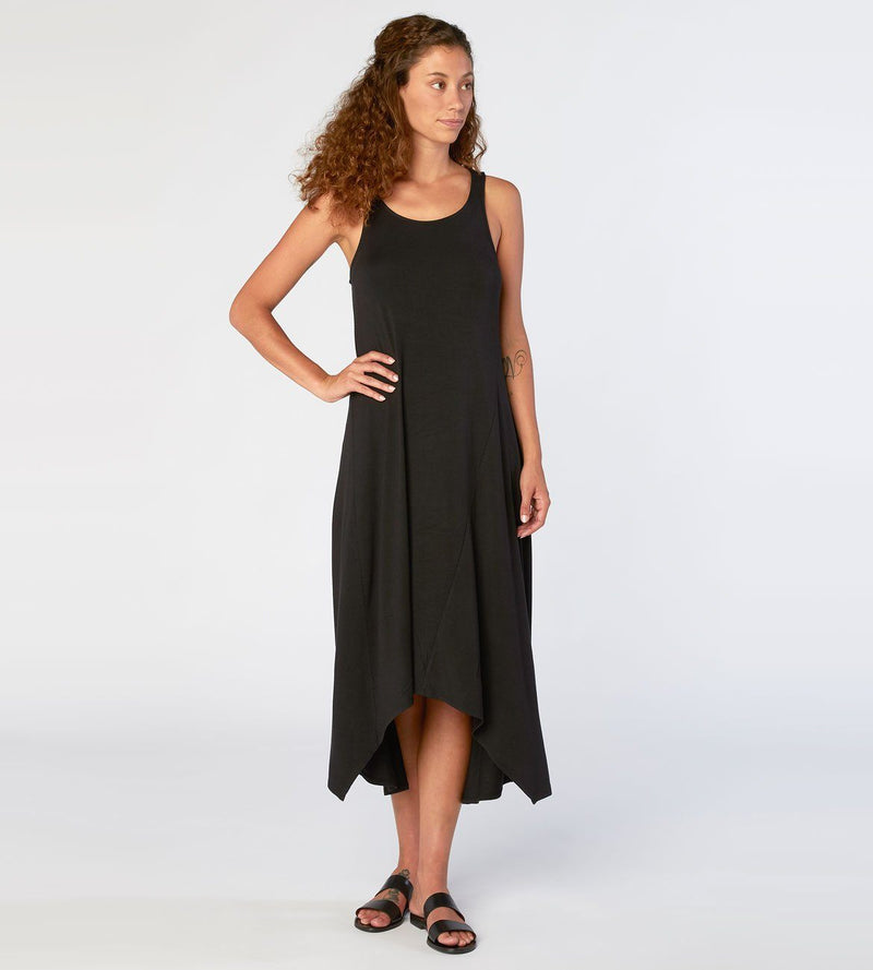 Giselle Dress Womens Dresses Threads 4 Thought xs Black