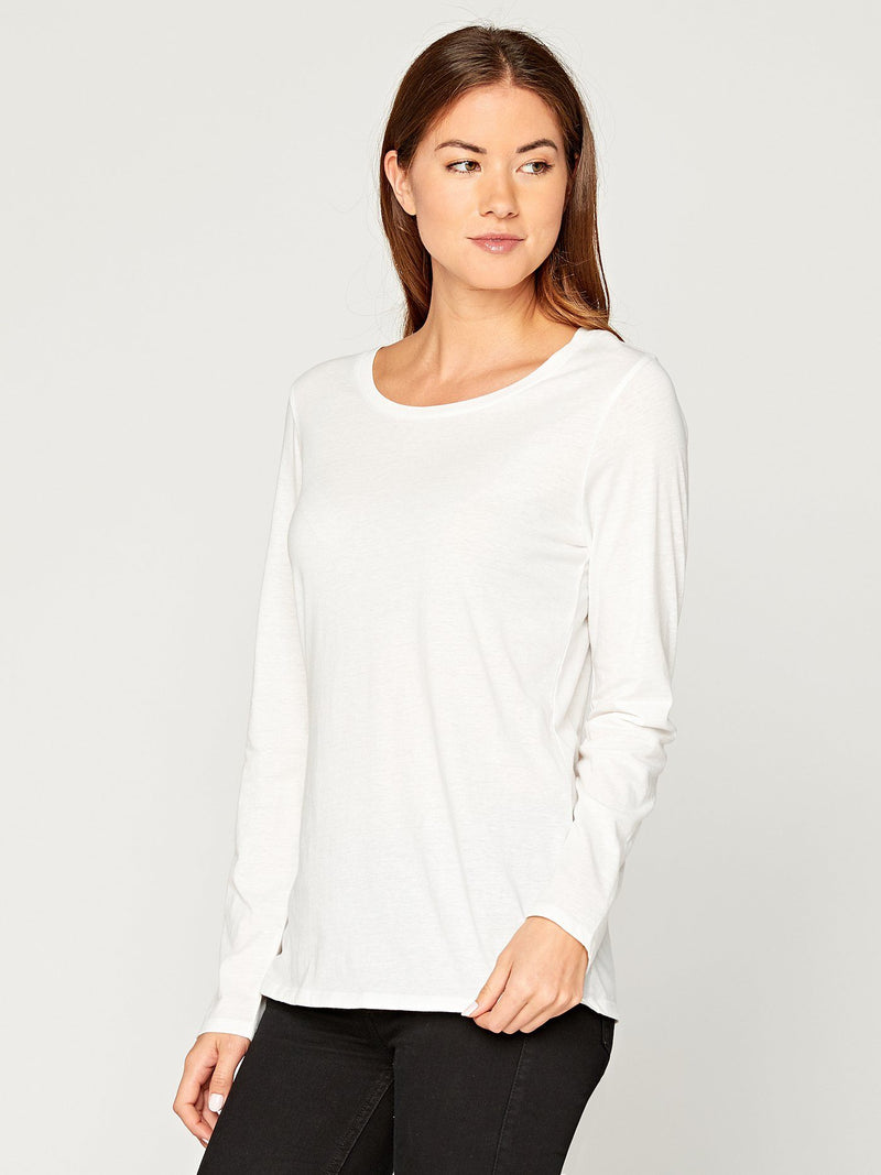 Sydney Scoop Neck Womens Tops Threads 4 Thought