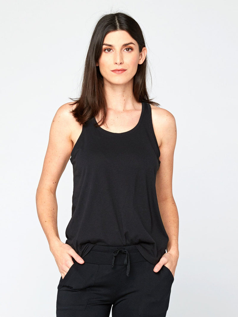 Theadora Tank Womens Tops Threads 4 Thought XS Black