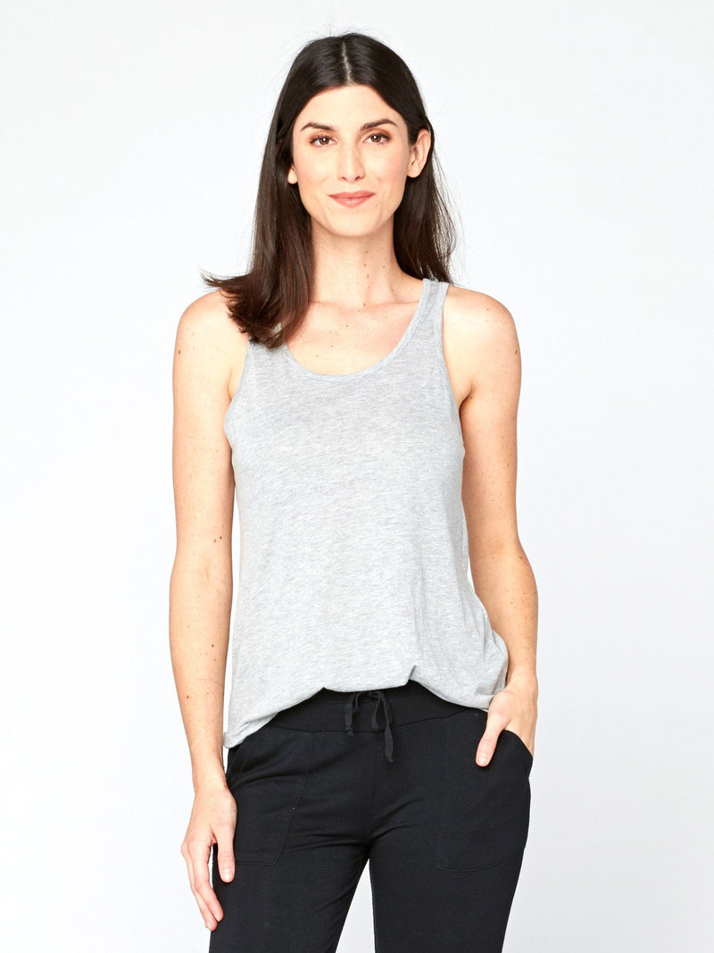 Theadora Tank Womens Tops Threads 4 Thought XS Heather Grey