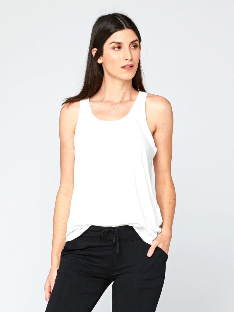 Theadora Tank Womens Tops Threads 4 Thought XS White