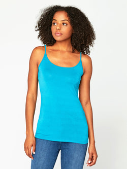 Cara Cami Womens Tops Cami Threads 4 Thought XS Ocean Depths