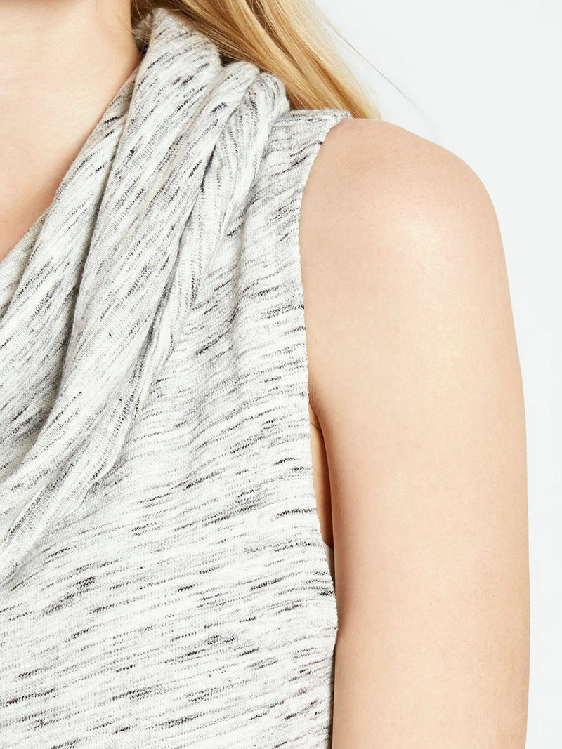 Sleeveless Cowl Pullover