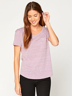Ezra Triblend Tee Womens Tops Threads 4 Thought XS Lavender