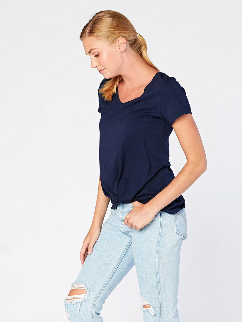 Aisha Twisted Front Top