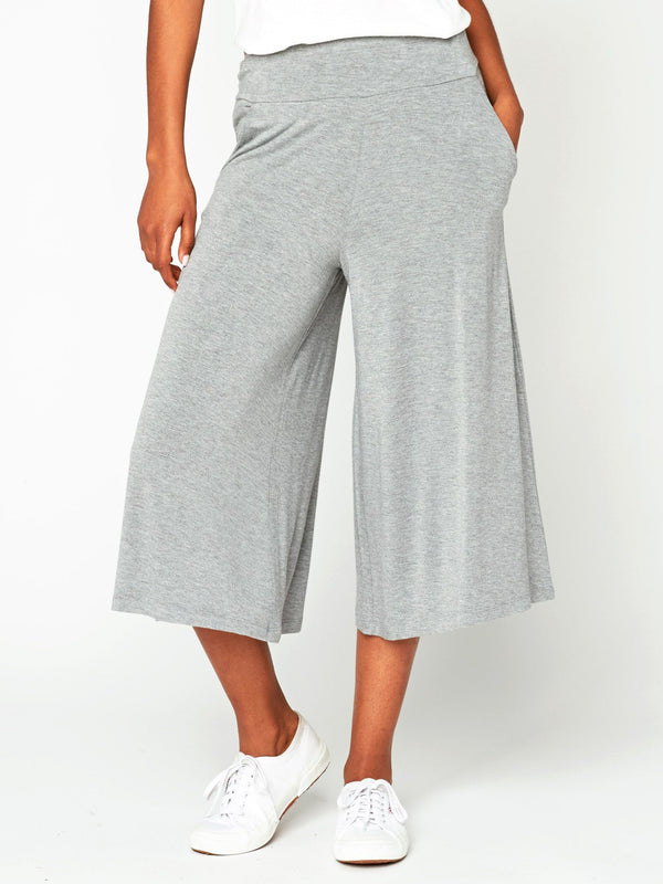 Jetta Culotte Womens Bottoms Pants Threads 4 Thought XS Heather Grey