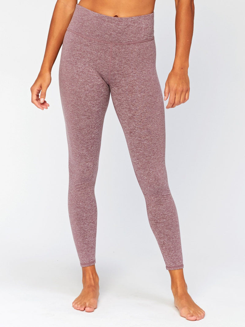 Betty High Rise Legging Womens Bottoms Pants Threads 4 Thought XS Heather Fig