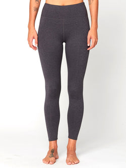 Betty High Rise Legging Womens Bottoms Pants Threads 4 Thought XS Heather Charcoal